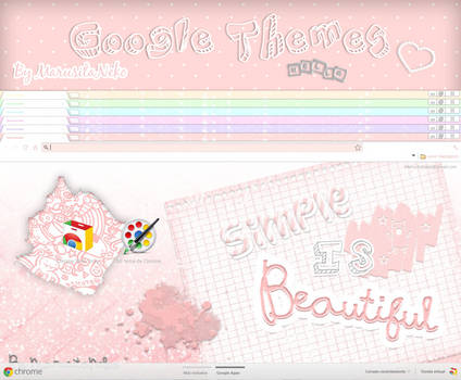 Simples is Beautiful Themes For Google :3
