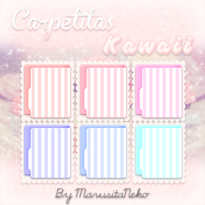 Carpetitas kawaii :3 by marusitaneko
