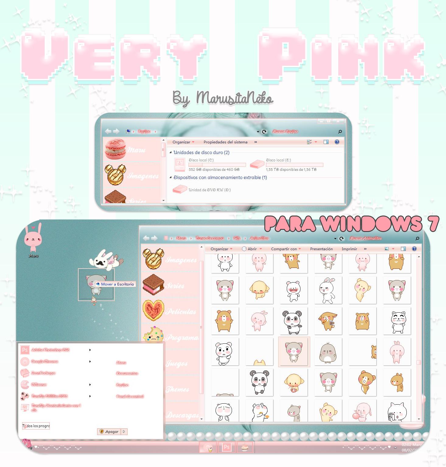 Very Pink By MarusitaNeko by marusitaneko