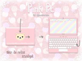 Pink Pc By MarusitaNeko by marusitaneko