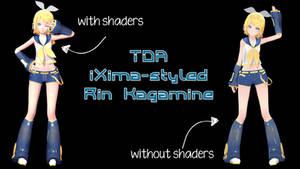 TDA iXima-styled Rin Kagamine Download
