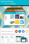 Material Design for Windows 8/8.1