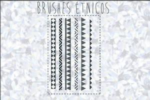 Pinceles etnicos by ThingsDI