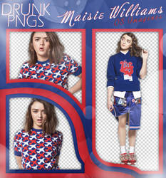 PACK PNG 36 /// MAISIE WILLIAMS.