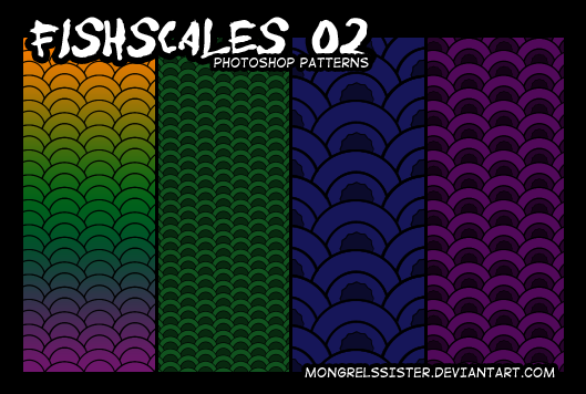 Fishscale Patterns 02 by mongrelmarie