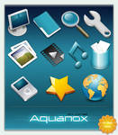 Aquanox mini Icon Set