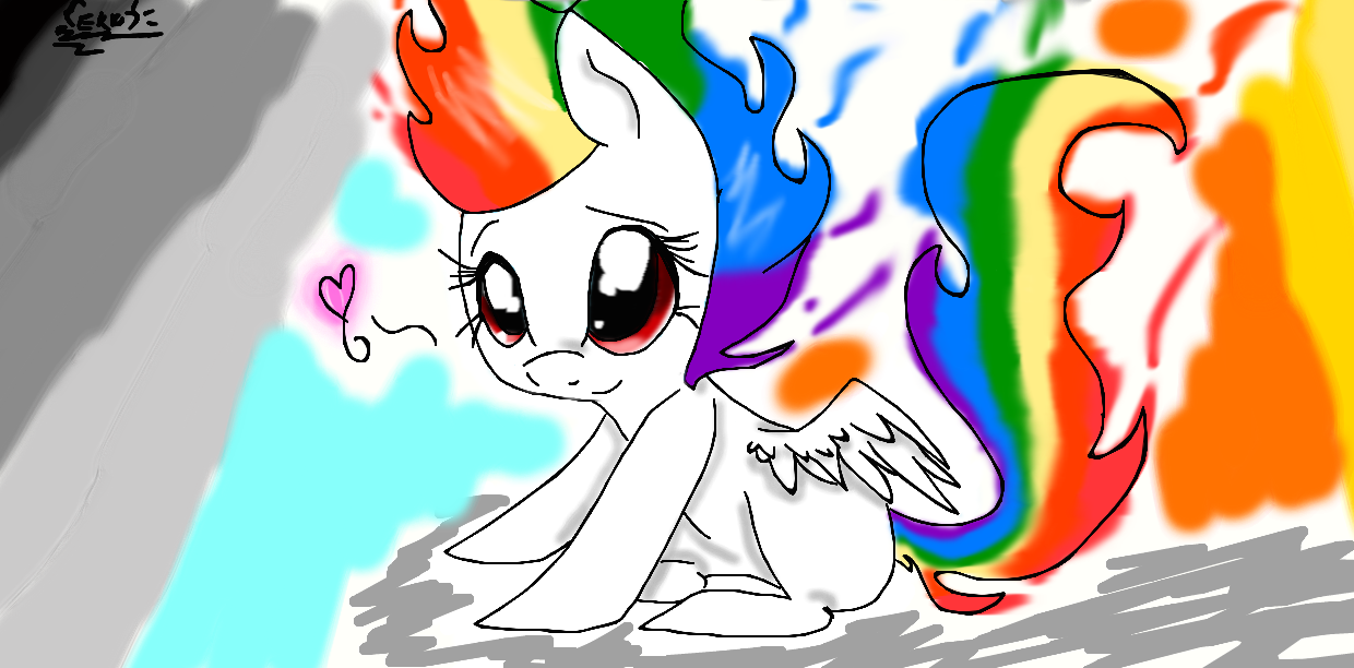 Baby Rainbow Dash Png Baby Super Rainbow Dash by