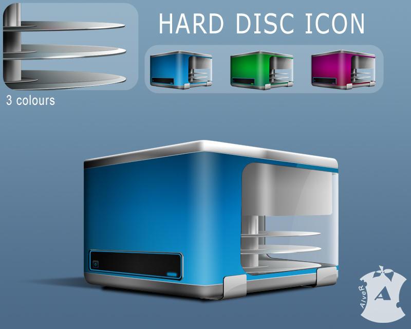 Hard Disk by AlveR-spb