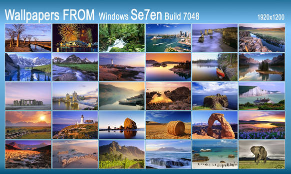 Wallpaper FROM Win7 build 7048