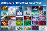 Wallpapers FROM Win7 build7057