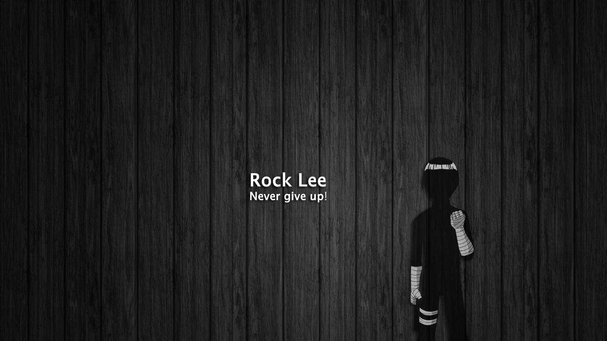 Rock Lee - Wallpaper by pilpani