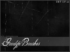 Scratch and Grudge Brushes by poisondropstock