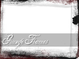 Grunge Framework by poisondropstock