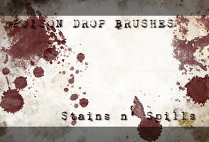 Stains n' Spills Brushes by poisondropstock