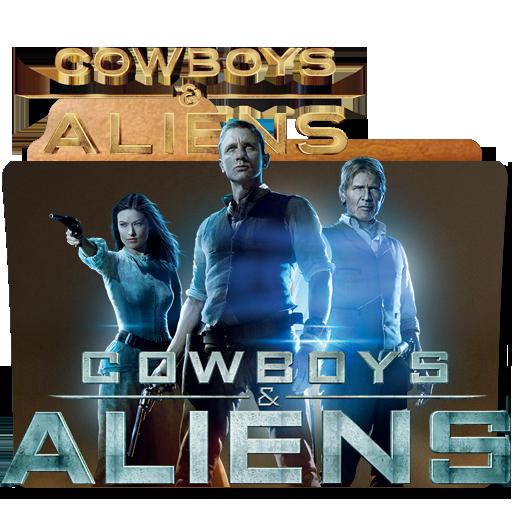 Cowboys Aliens 2011 Folder Icon By Sholang On Deviantart