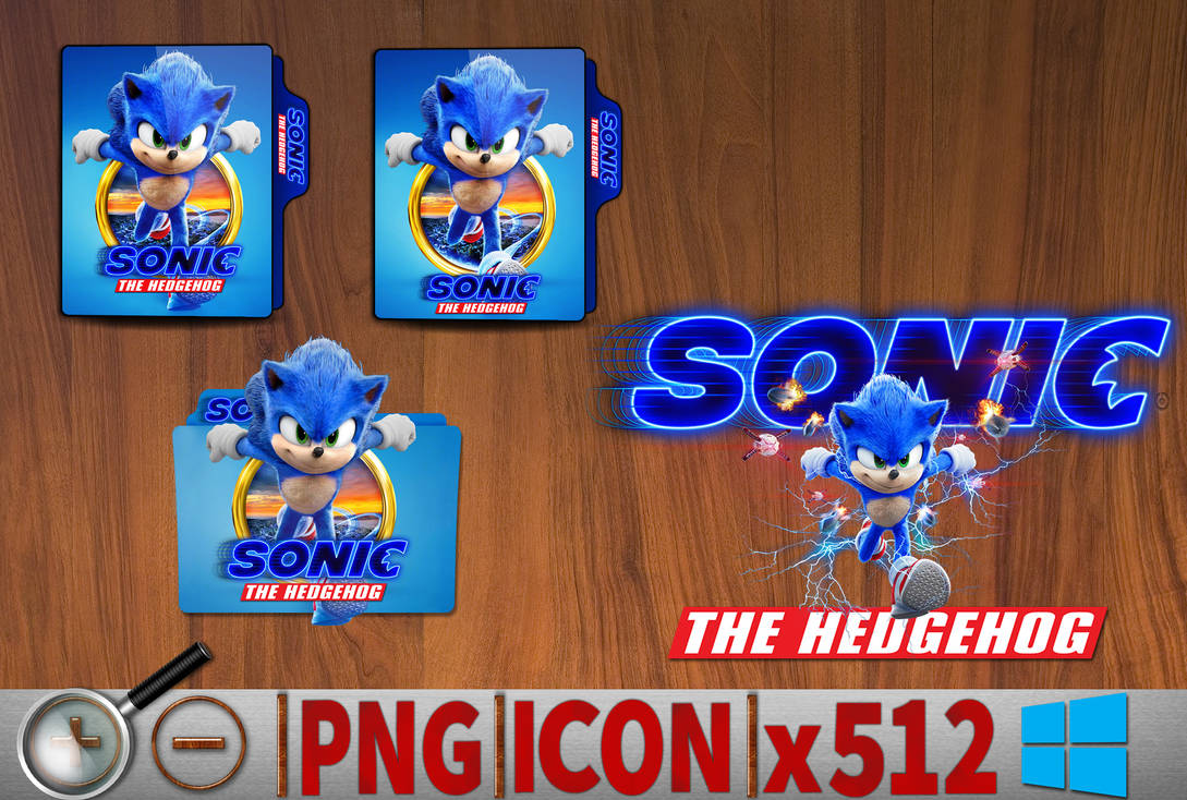 Sonic The Hedgehog 2020 Folder Icon Pack By Sholang On Deviantart