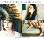 PSD Little miss sunshine (DOWNLOAD FOR FREE)