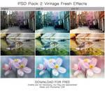 PACK 2 PSD 'Vintage fresh' (FREE DOWNLOAD) by Heavensinyoureyes