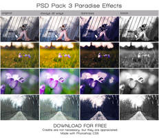 PSD PACK 3 Paradise Effects. (DOWNLOAD FOR FREE) by Heavensinyoureyes