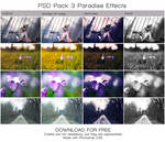 PSD PACK 3 Paradise Effects. (DOWNLOAD FOR FREE)