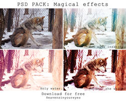 PSD PACK Magical Effects (Download for free) by Heavensinyoureyes