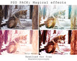 PSD PACK Magical Effects (Download for free)
