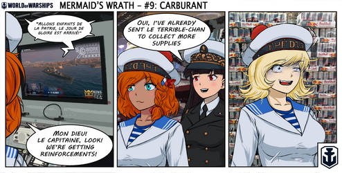 Naval Nonsense - Mermaid's Wrath 9 by Chobittsu-Studios
