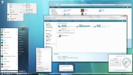 ClearGlass Aero Vista 8.1.1 by SimplexDesignsART