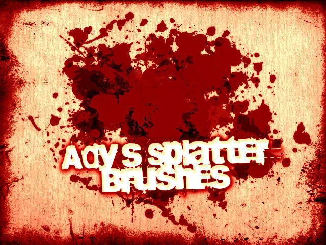 Ady's Splatter Brushes by Ady333
