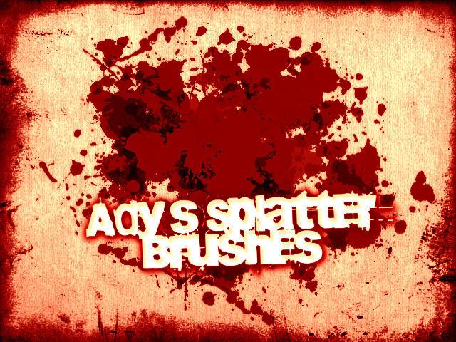 Ady's Splatter Brushes by Ady333