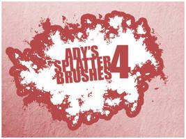 Ady's Splatter Brushes 4 by Ady333