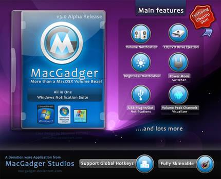 MacGadger v3.0 Alpha Release