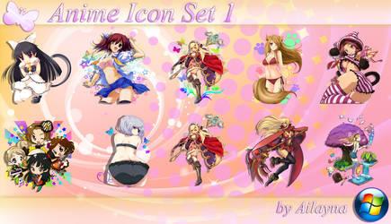 Anime Icon Set - 1