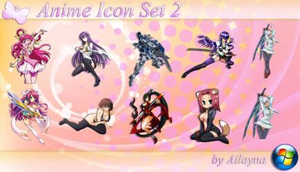 Anime Icon Set - 2