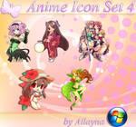 Anime Icon Set - 4