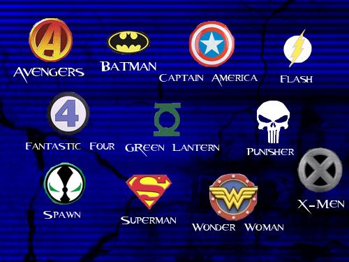 Superhero Logo Brushes by glomdi on DeviantArt