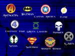 Superhero Logo Brushes
