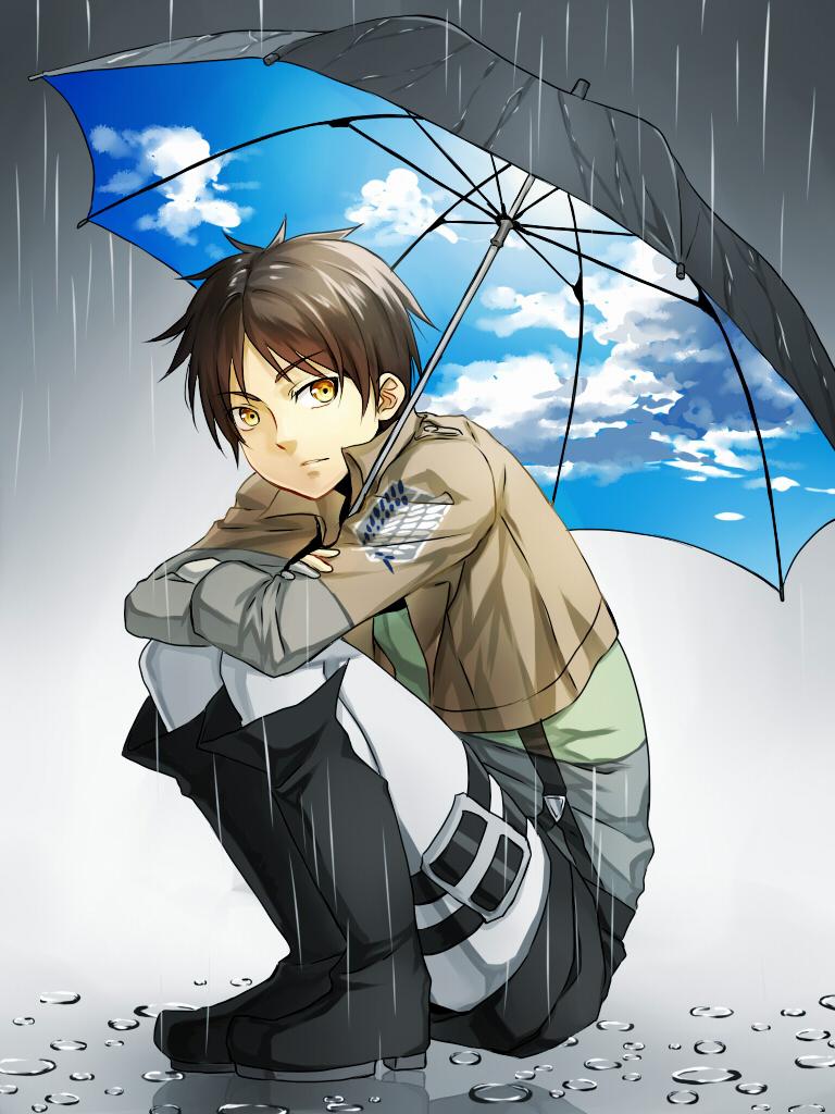 a kiss in the rain eren x reader modern au by greystream