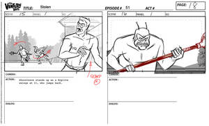 Venture Brothers Storyboard - Ep 411