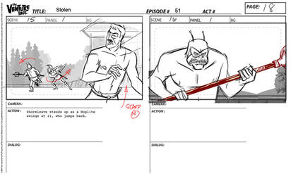 Venture Brothers Storyboard - Ep 411 by sinyx