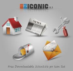 Eziconicv1.0 Iconpack By Erayzesen