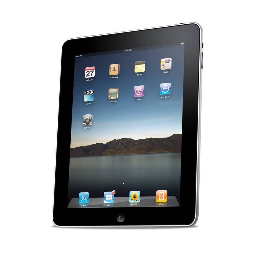 iPad PSD by mppagano