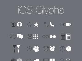 Free: iOS Glyphs (PSD) by mppagano