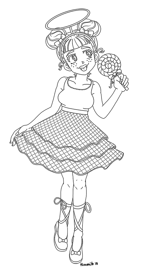 Sugar Lol Surprise Doll Coloring Page By Hinoraito On Deviantart