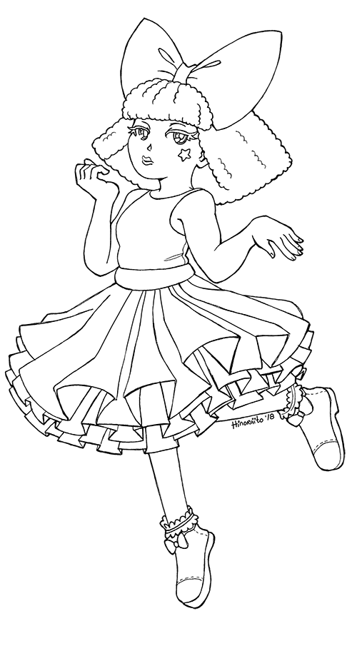 Diva Lol Suprise Doll Coloring Page By Hinoraito On