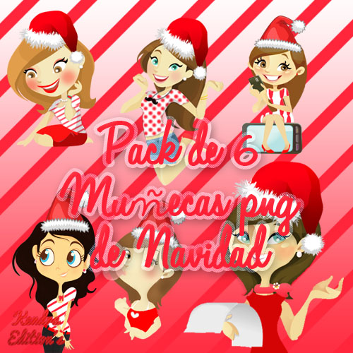 Munecas Png De Navidad by ~kendra19082002 on deviantART