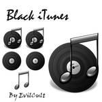 Black iTunes PNG