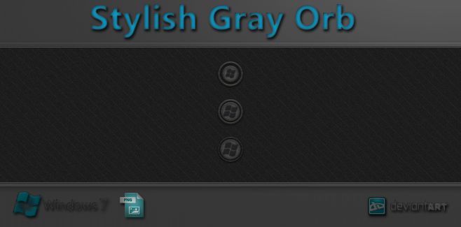 Stylish Gray Orb by WwGallery