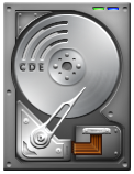 Silver HDD by WwGallery