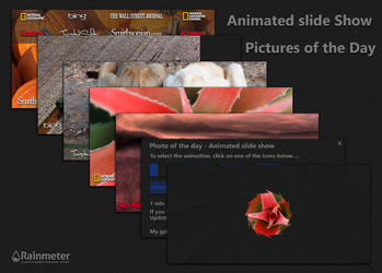 Animated slide show - Pictures of the Day by WwGallery